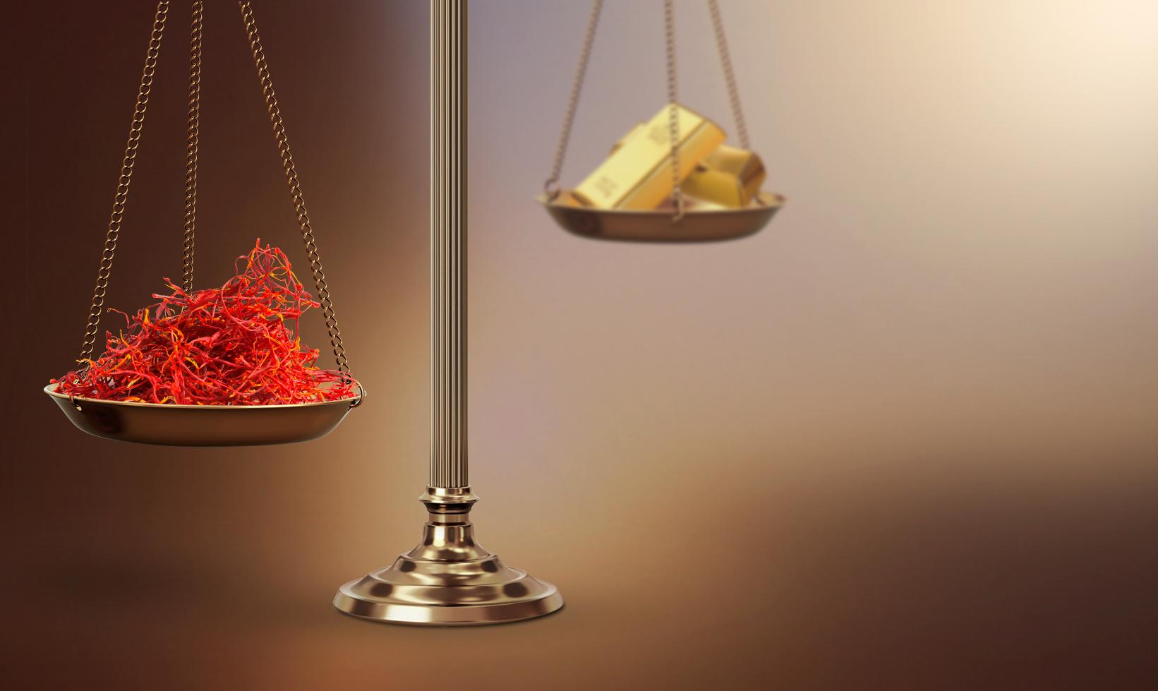 шафранът по скъп от златото